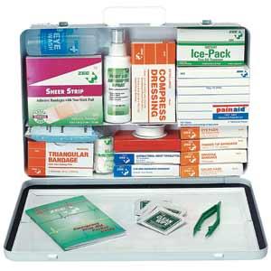 ZEE Medical Two Shelf Deluxe Metal Truck Kit