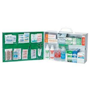 ZEE Medical Two Shelf Metal Utility Kit
