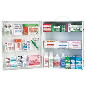 ZEE Medical Medium Three Shelf Metal Kit
