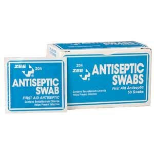 ZEE Medical Antiseptic Swabs 100/box