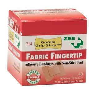 ZEE Medical Extra Large Fingertip Bandages 75/BX