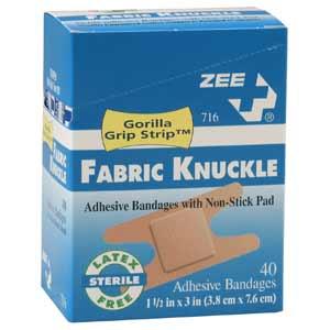 ZEE Medical Knuckle Bandages 40/BX