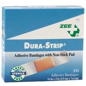 ZEE Medical Dura-Strip Bandages 100/BX