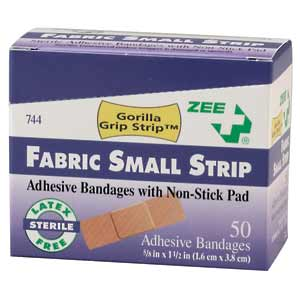 ZEE Medical Small Strip Bandages 50/BX