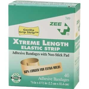 ZEE Medical Xtreme Length Elastic Strip 40BX Bandages
