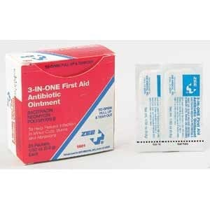 ZEE Medical 3-in-1 Antibiotic Ointment 25BX