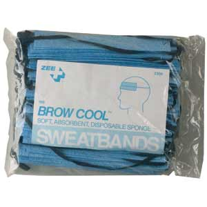 ZEE Medical Sweatbands, Sponge 100 bag