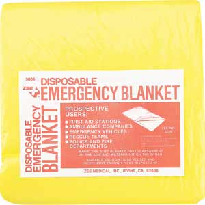 ZEE Medical Plastic Emergency Blanket