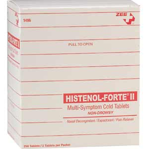 ZEE Medical Histenol Forte 125PK/OF 2