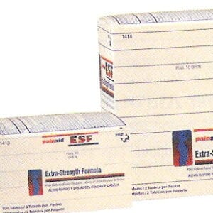 ZEE Medical Painaid ESF 125 PK OF 2