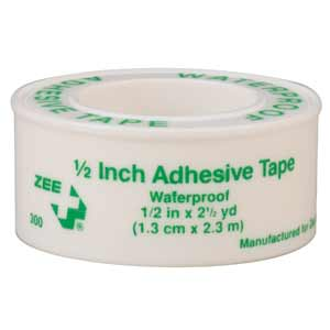 "ZEE Medical Adhesive Tape 1/2"" x 5yds"