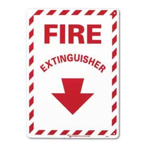 "ZEE Medical Fire Extinguisher, 10"" x 14"""