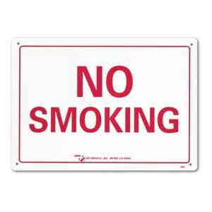 """ZEE Medical No Smoking, 10"""" x 14"""""""