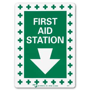 """ZEE Medical First Aid Station, 10"""" x 14"""""""