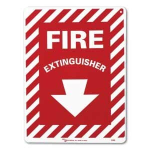 "ZEE Medical Fire Extinguisher, 12"" x 9"""
