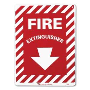 "ZEE Medical Fire Extinguisher, 12"" x 9"""