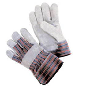 Shoulder Leather Palm Work Gloves