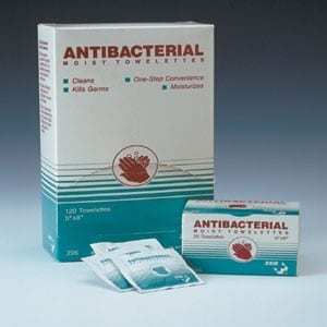 Anti-Bacterial Moist Towelettes