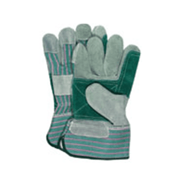 Leather Double Palm Work Gloves