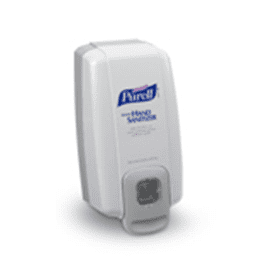 Purell Hand Sanitizer Wall Mount Dispenser and bag in box refill