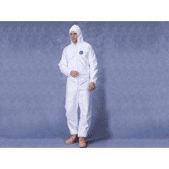 Tyvek Protective Coverall Suit - w Hood