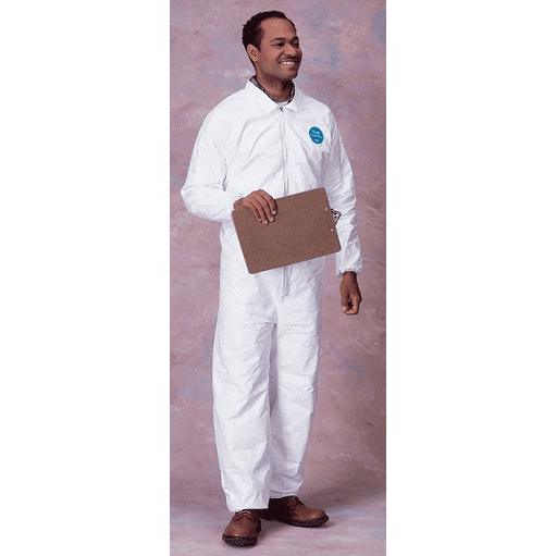 Tyvek Protective Coverall Suit - Elastic Sleeves